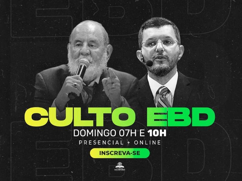 CULTO EBD 15/11