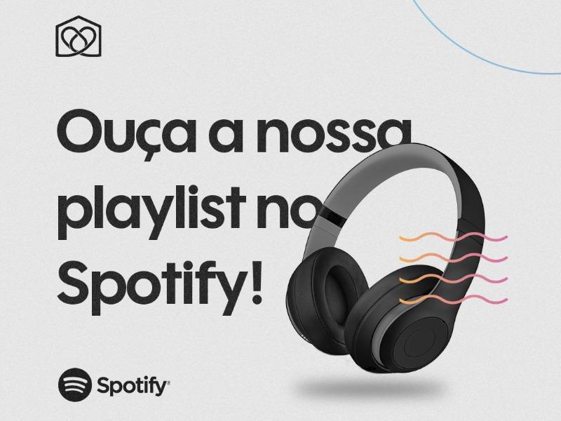 Ouça nossa playlist no Spotify!