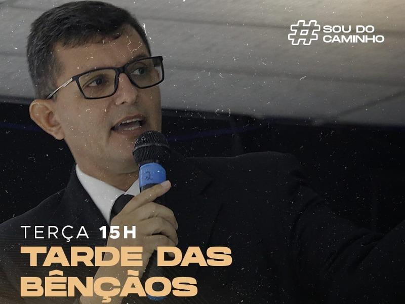 CULTO TARDE DAS BÊNÇÃOS 02-03-21
