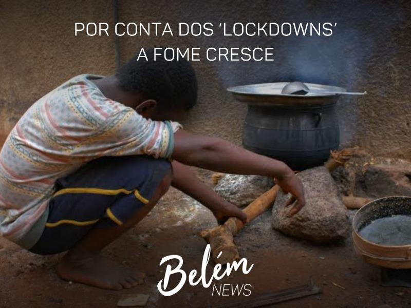 Por conta dos 'lockdowns' a fome cresce