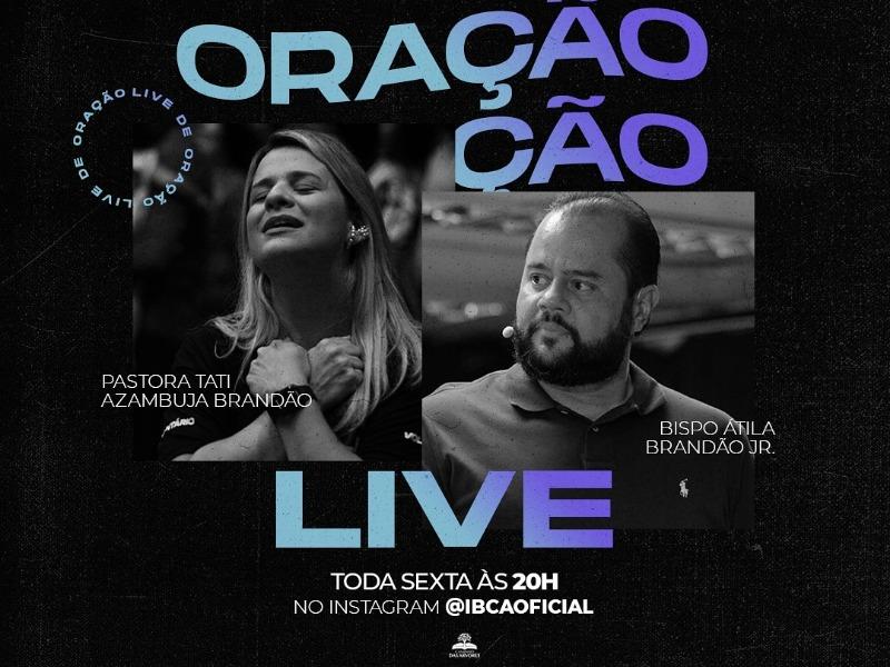 LIVE DE ORAÇÃO 26-02