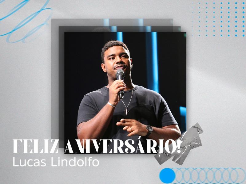 Parabéns, Lucas Lindolfo!