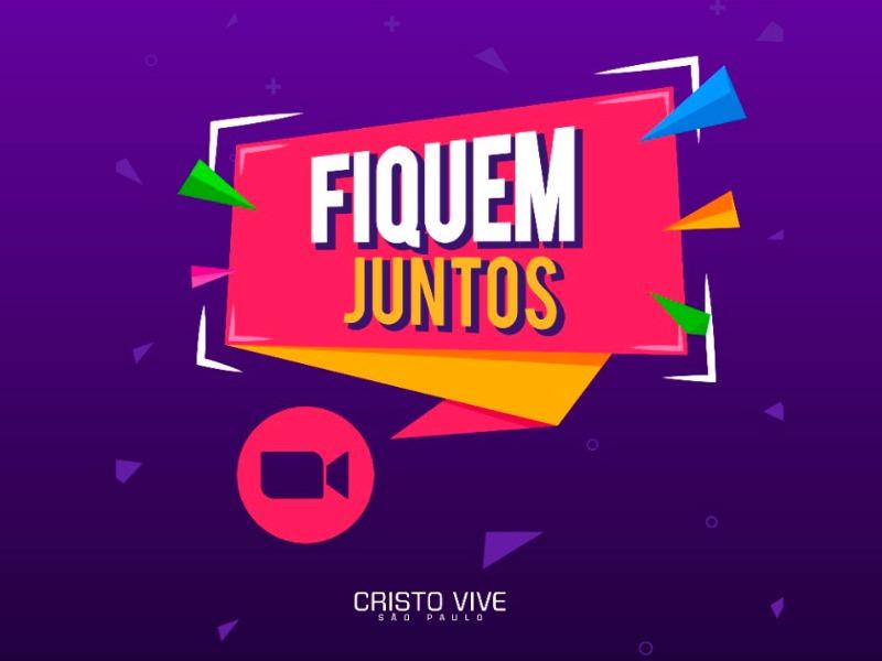 #fiquemjuntos