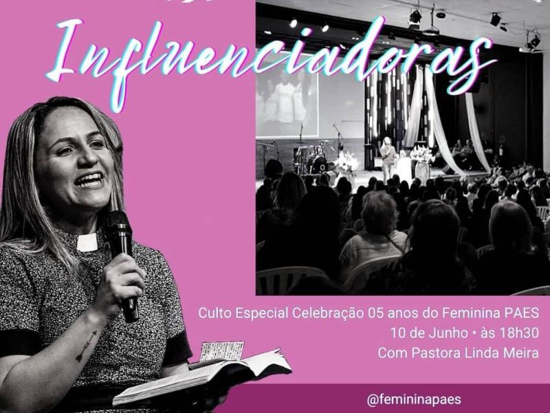 Culto Especial 05 anos Feminina