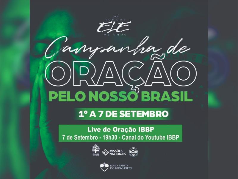 Campanha de Oração Pelo Nosso Brasil