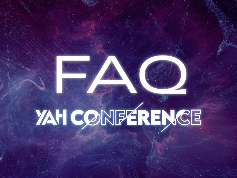 FAQ - Informações úteis sobre a YAH Conference!