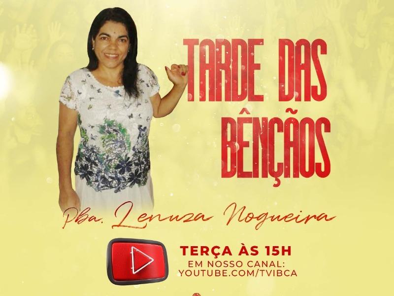 CULTO TARDE DAS BÊNÇÃOS PRESENCIAL 11/08
