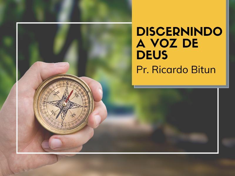 22/03/2020 - Discernindo a Voz de Deus