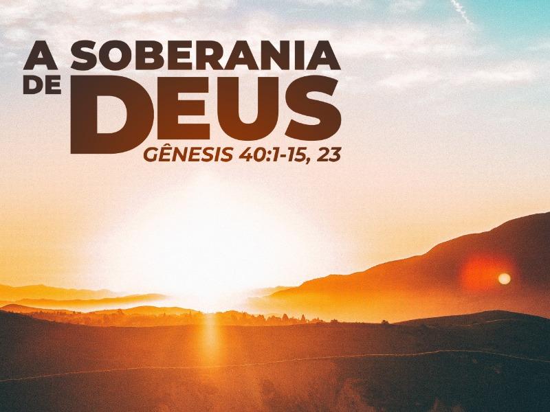 A soberania de Deus