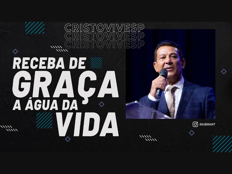 RECEBA DE GRAÇA A ÁGUA DA VIDA // 21/01/2021 // Nº 3644