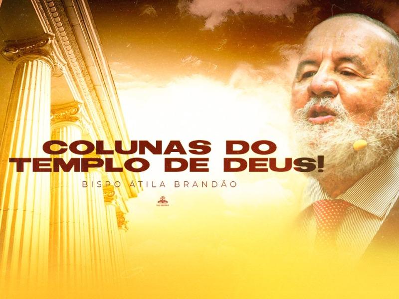 COLUNAS DO TEMPLO DE DEUS