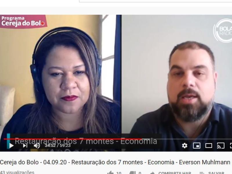 Restauração dos 7 montes - Economia