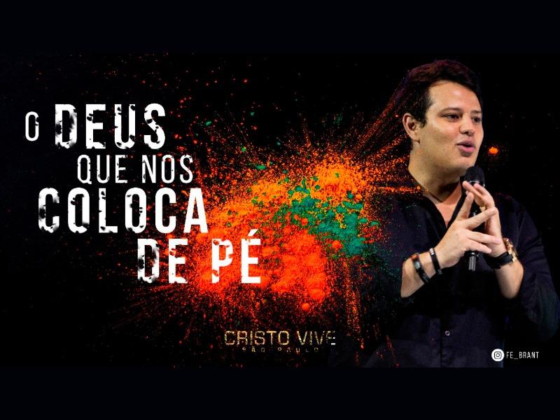 O DEUS QUE NOS COLOCA DE PÉ I 26/04/21