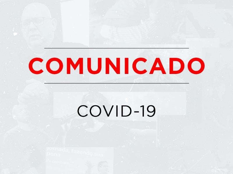 COMUNICADO - CORONAVIRUS - 16/03/2020