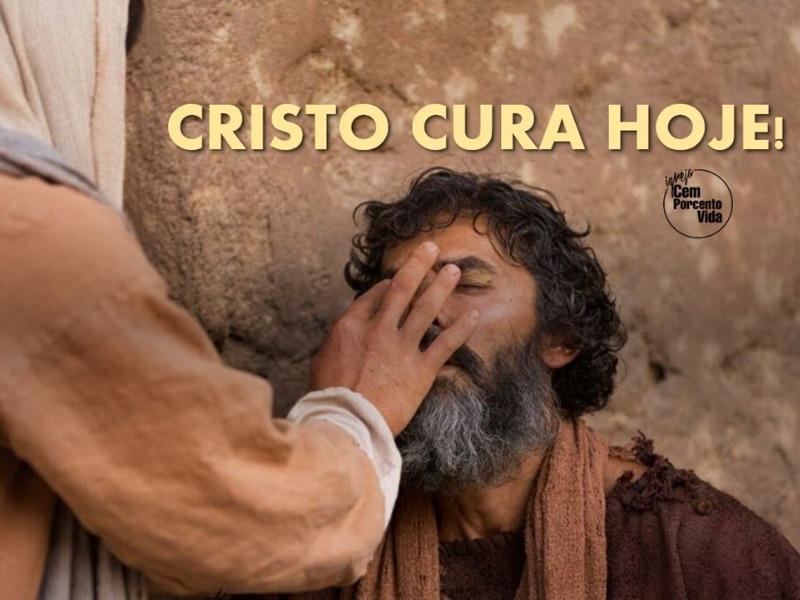 Cristo cura hoje