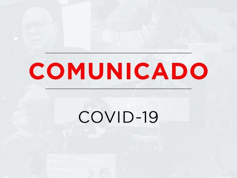 COMUNICADO - CORONAVIRUS - 19/03/2020