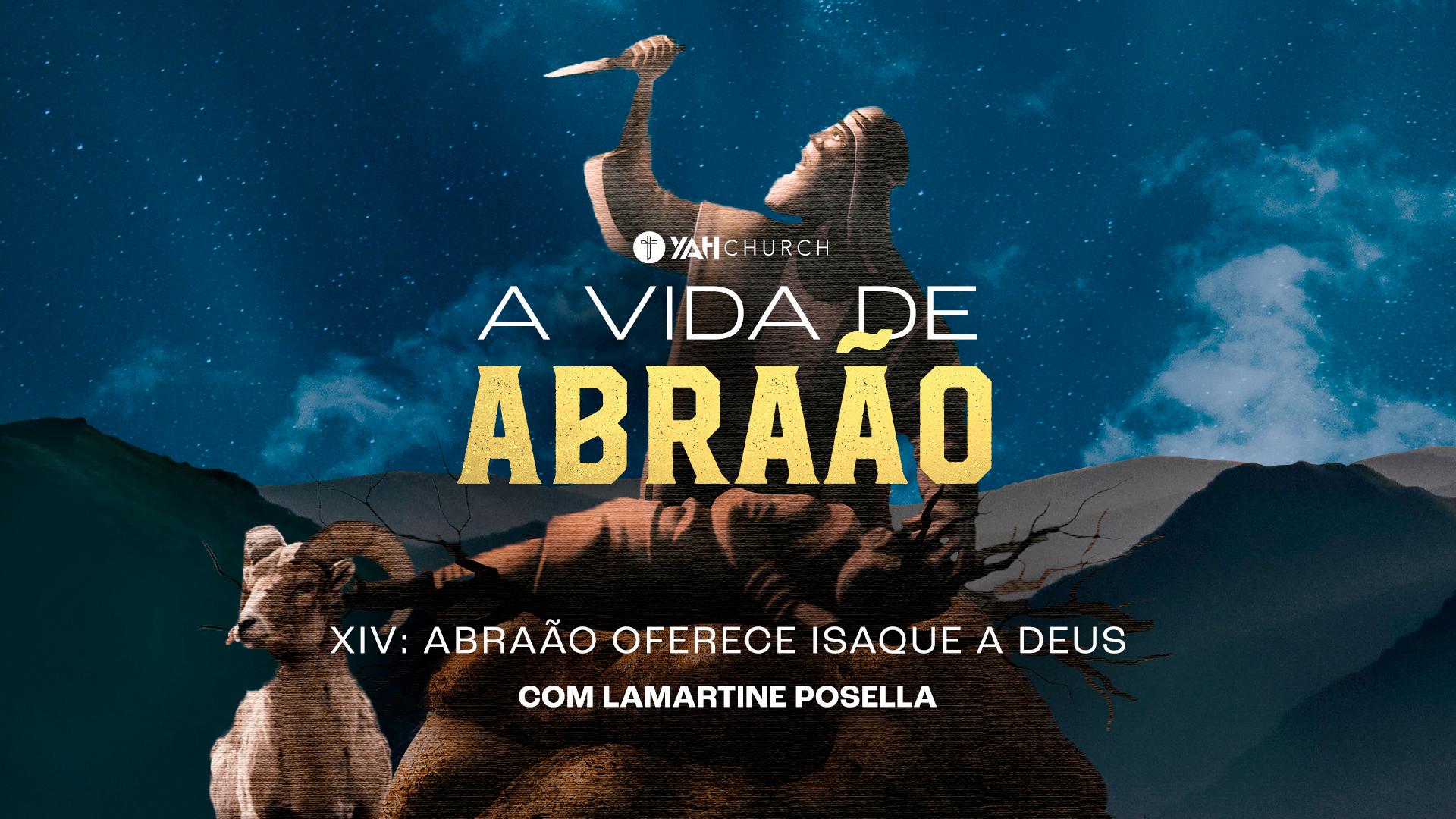 Abraão oferece Isaque a Deus