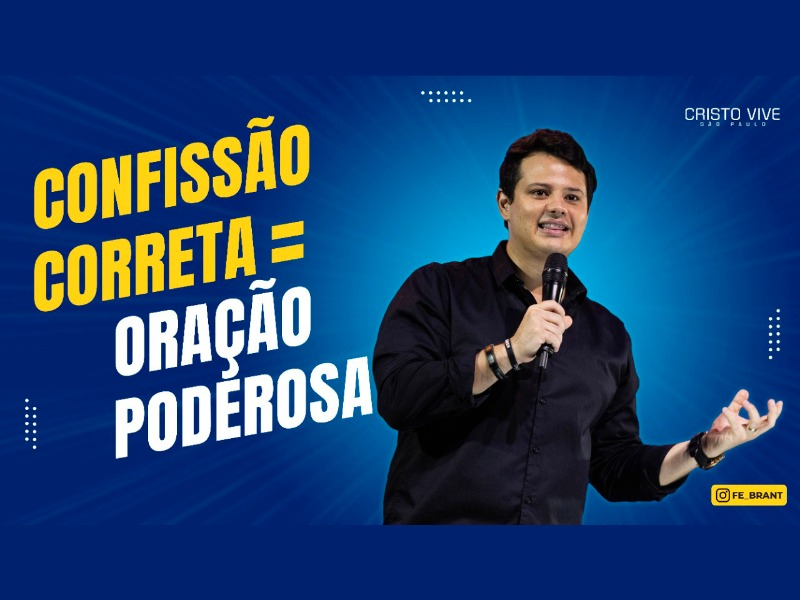 CONFISSÃO CORRETA = ORAÇÃO PODEROSA I 05/04/21