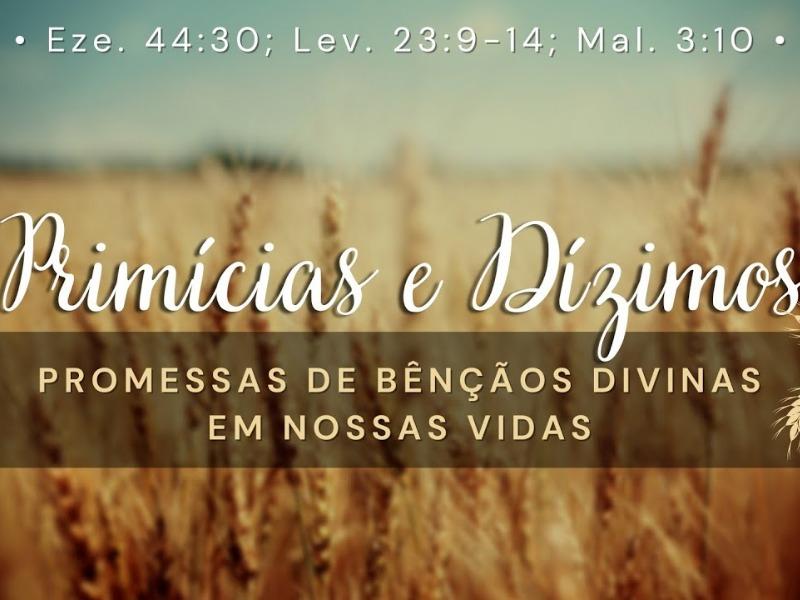 Primícias e Dízimos: promessas de bênçãos divinas em nossas vidas