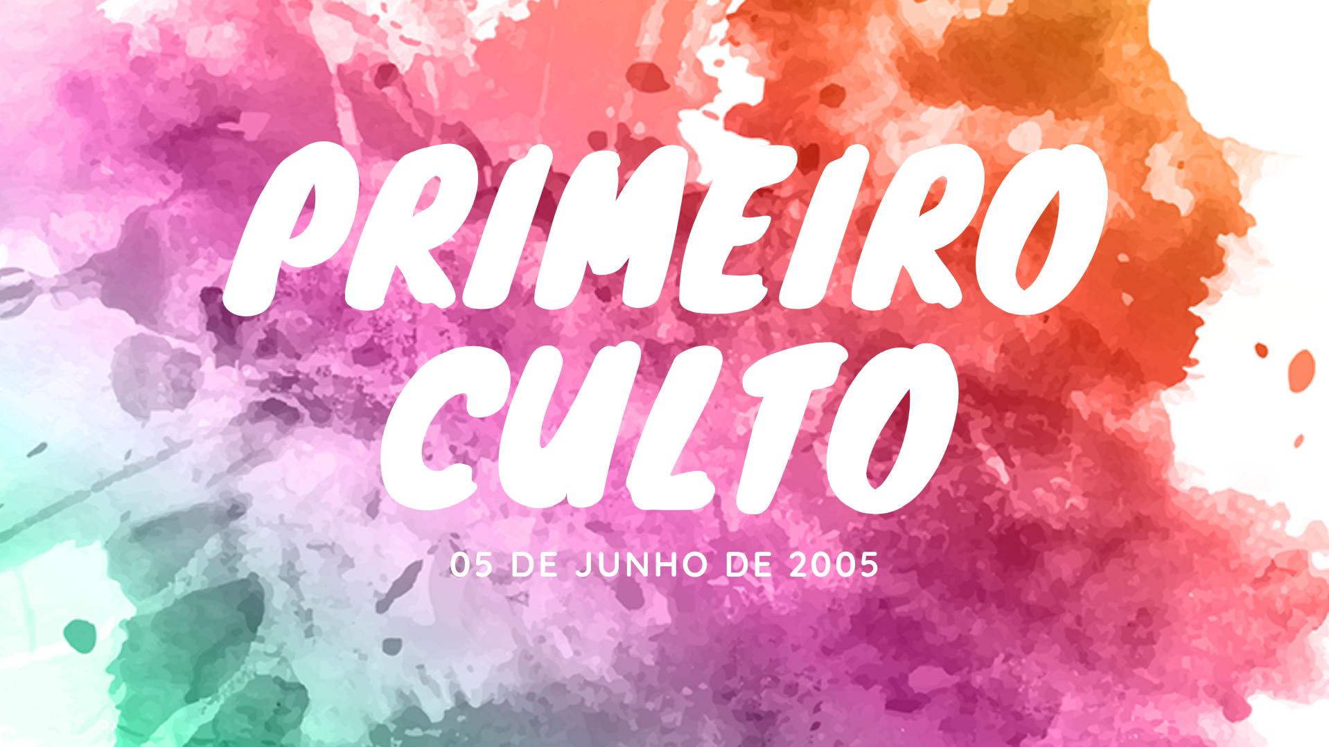 ALGUNS MOMENTOS DO PRIMEIRO CULTO DA 5ª IGREJA