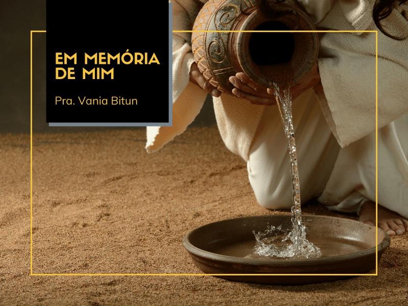 13/09/2020 - Em memória de Mim