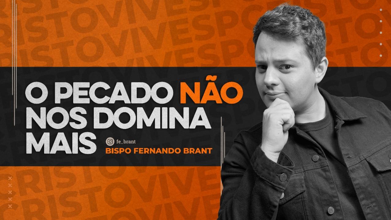 O PECADO NÃO NOS DOMINA MAIS !  // 14/10/2021