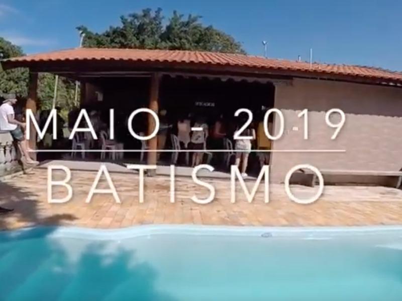 Batismo Maio - 2019