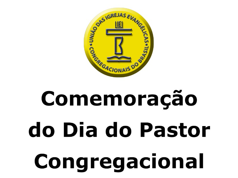 Dia do Pastor Congregacional