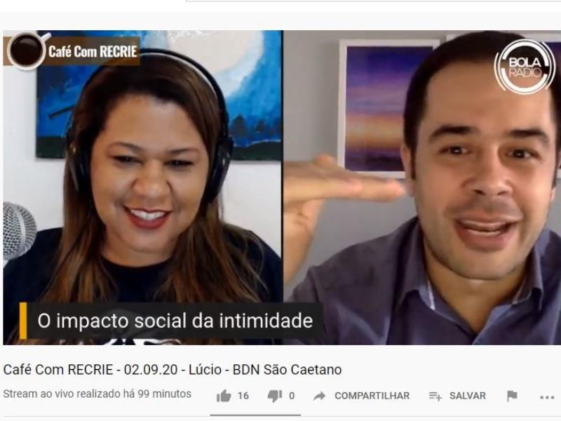 O Impacto social da Intimidade | Café com Recrie