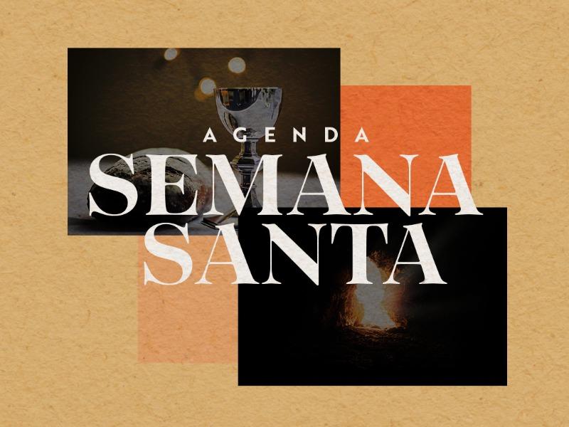 Agenda Semana Santa