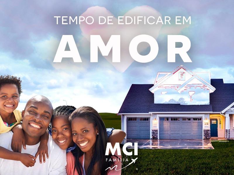 TEMPO DE EDIFICAR EM AMOR