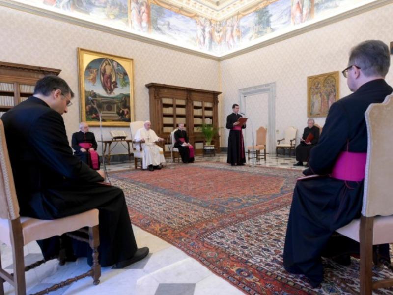 Catequese Sobre A Oração Papa Francisco
