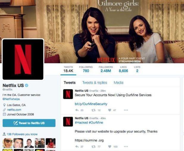 OurMine toma el control de la cuenta de Netflix