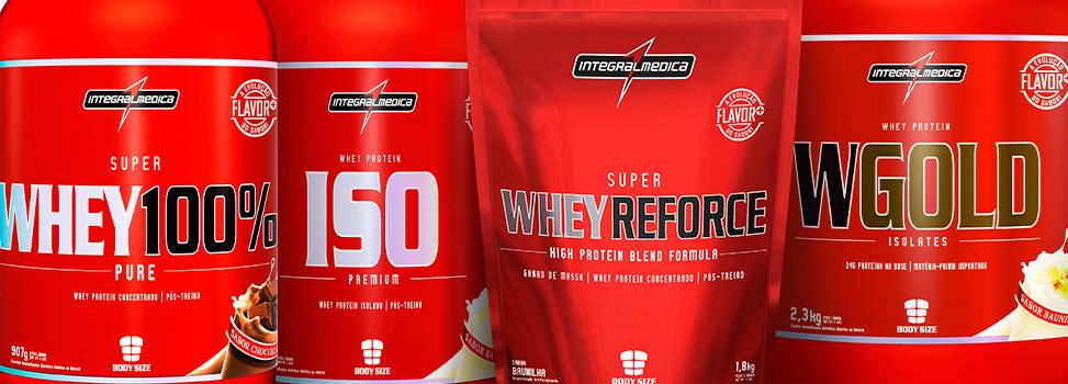 Whey protein isolado, concentrado e hidrolisado. Conheça as diferenças e escolha bem.