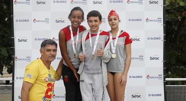 Após jejum em 2018, Loide Marta volta a conquistar um título na disputa da natação, realizada no Parque Olímpico de Deodoro