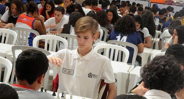 Campeões do xadrez serão conhecidos neste sábado (20/10), a partir das 9h, no Santa Mônica Centro Educacional — unidade Freguesia