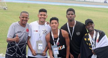 Colégio Vasco da Gama fatura título no atletismo, disputado na Grande Final, e comprova bom trabalho do clube na base