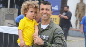 Comandante do Centro de Treinamento Olímpico da Aeronáutica,o tenente-coronel Ricardo Miguel já disputou o Intercolegial