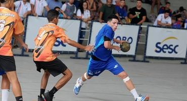 Craque do handebol do Triângulo, Marcos Antônio é o principal nome da classificação para a final sub-18 e sonha chegar à seleção brasileira