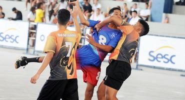 Decisões do handebol serão no próximo sábado (24/11), a partir das 9h, no ginásio do CAp Paulo Gissoni, em Realengo