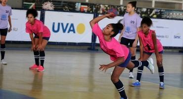 Disputas pelo bronze encerram o handebol no Centro de Referência Esportiva da Mangueira