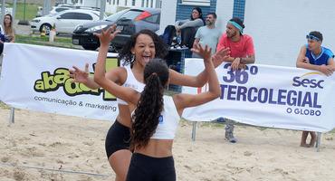 Elite fatura dois títulos nas quatro categorias do vôlei de praia. GEO Nelson Prudêncio e MV1 são campeões uma vez, cada um