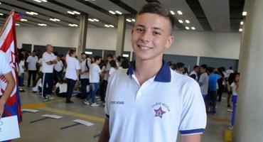 Fã de Red Hot e da MPB, Pedro espera fazer bonito em sua terceira participação no Intercolegial
