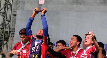 Garoto família, Bernardo exalta a entrega da equipe do CEL na conquista do título sub-18 federado em duelo contra o Percepção