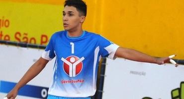 Goleiro do Odete São Paio, Davi é amigo de Vinicius Junior, joia do Flamengo que defenderá o Real Madri