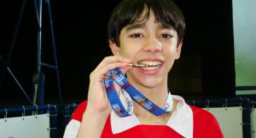 Hugo Calderano para nas oitavas de final nos Jogos Rio 2016