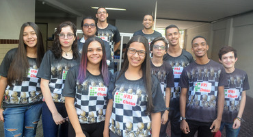 Intruso nos pódios das oito categorias do xadrez, Instituto Federal do Rio de Janeiro realiza trabalho de excelência