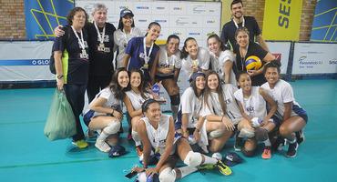 Nova Gávea e Sistema Elite conquistam dois títulos cada um, nas finais do vôlei