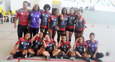 Potência no handebol do Intercolegial, Colégio Estadual Antônio da Silva tem projeto que revela atletas de alto nível