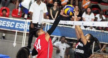 Rodada deste sábado (26/10) apontará os donos das medalhas de bronze do vôlei, a partir das 9h, no Sesc Tijuca